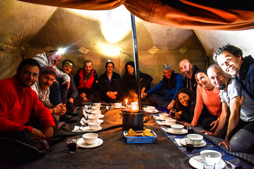 MARRUECOS KAYAK CAMP: Campamento en Haima