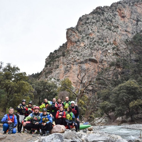 Marruecos kayak camp 2019